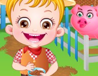 Baby Hazel Farm Tour Game