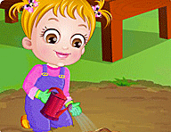 Baby Hazel Gardening Time Game